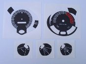 1970 AMX / Javelin Gauge Cluster Decal