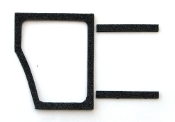 1968-70 AMC AMX / Javelin Cowl Trim Panel Door Seals Right Side