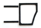 1968-74 AMC AMX / Javelin Cowl Trim Panel Door Seals Left Side
