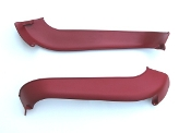 1970 AMC AMX / Javelin Long Lower Seat Trim Red Left